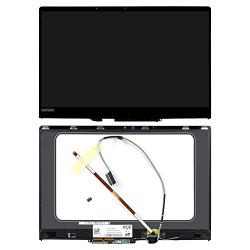 FirstLCD Touch LCD Screen Replacement 5D10M14145 for Lenovo Yoga 710-15IKB 80V5 80V50010US digitizer LED Display Panel Assembly +Bezel + Control Board 15.6