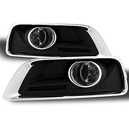 amazon com: 2013-2015 malibu replacement fog lights w/ switch, harness,  wiring completed set pair left+right 2014: automotive