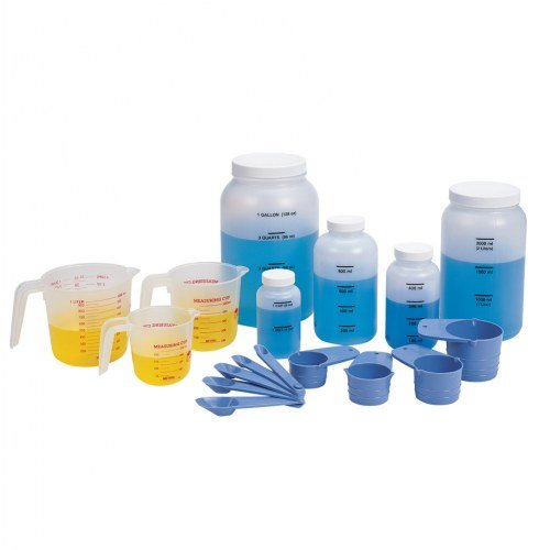 Classroom Measuring Set - Learning Resources Classroom Liquid Measuring Set, 19 Pieces