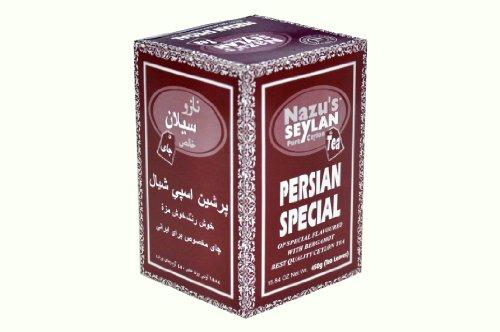 Nazu Seylan Pure Ceylon Tea, Persian Special. 15.84 Ounce - 450 Gram.