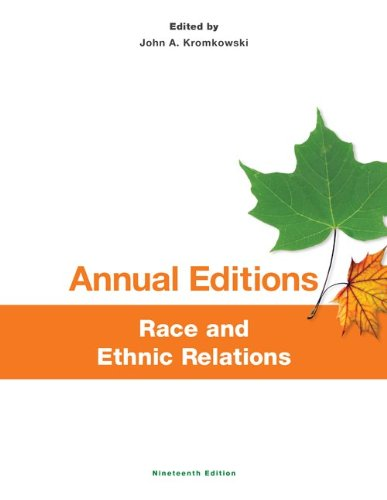 Annual Editions: Race and Ethnic Relations, 19/e