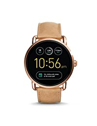 Fossil Q Wander Gen 2 Touchscreen Tan Leather Smartwatch