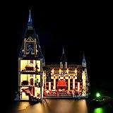 LIGHTAILING Light Set for (Harry Potter Hogwarts Great Hall) Building Blocks Model - Led Light kit Compatible with Lego 75954(NOT Included The Model)