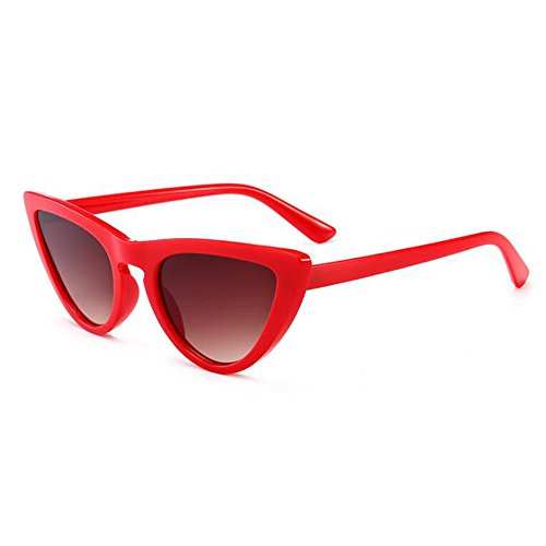 petites femmes juqilu lunettes soleil Cat lunettes Cateye élégant C6 Eye UV400 de Triangle Vintage lunettes xvOxaP