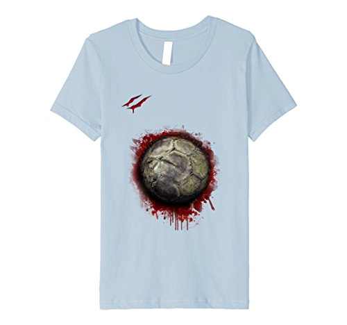 Kids zombie soccer player tshirt Christmas 2017 12 Baby (Soccer Costumes)