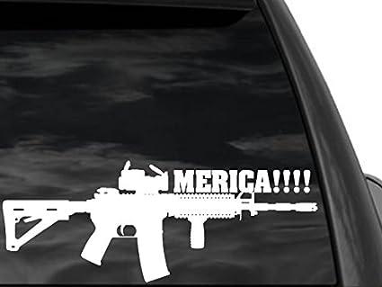 "2nd Amendment /""If guns kill people.../"" Heavy Duty Sticker Decal Free Shipping!"