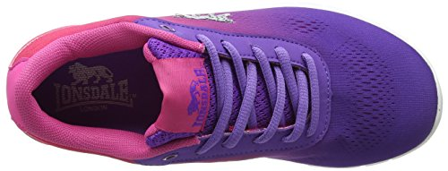 Purple Remi Pink Violett Schwarz Laufschuhe Lonsdale Vk Damen UwgqR1T