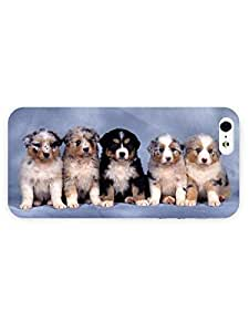 3d Full Wrap Case for iPhone 5/5s Animal Cute Dog96