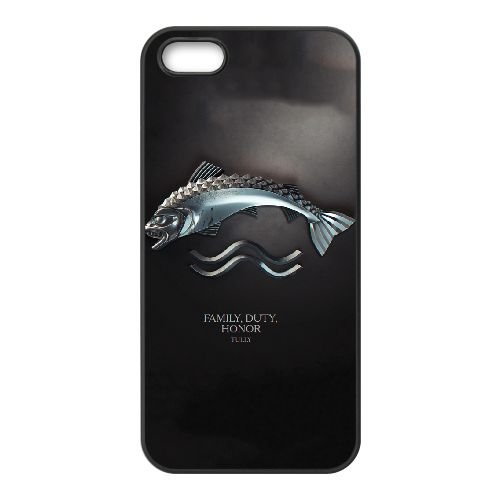 Game Of Thrones 012 coque iPhone 4 4S cellulaire cas coque de téléphone cas téléphone cellulaire noir couvercle EEEXLKNBC25182