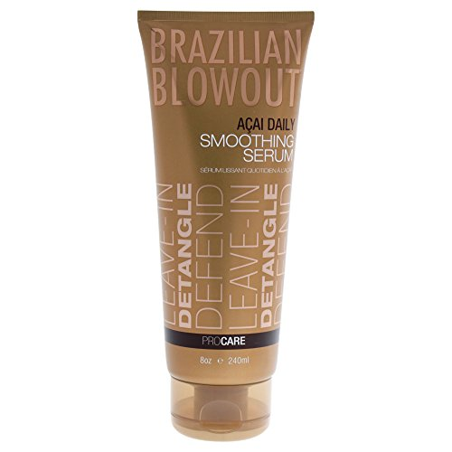 Brazilian Blowout Acai Daily Smoothing Serum, 8 (Smoothing Shine Serum)