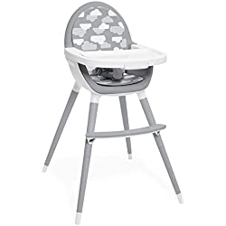 Skip Hop Convertible High Chair, Tuo, Grey Clouds