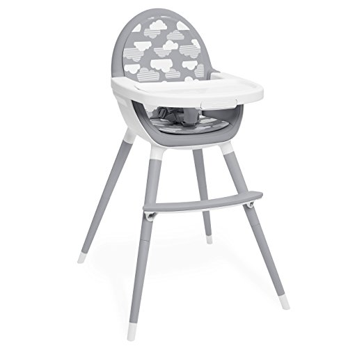 Skip Hop Tuo Convertible High Chair, Clouds by Skip Hop