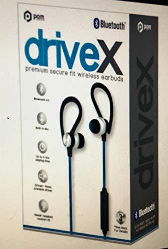 5b8c07cd2bf Pom Gear DriveX Premium Secure Fit Wireless Bluetooth Earbuds - Blue