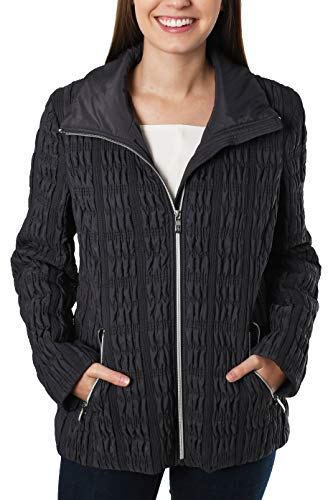 Anne Klein Women's Briana Jacket Smoke Large