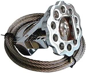 كابلات معدنيه متعددة الأغراض لتامين الفولاذ المقاوم للصدا متر 2