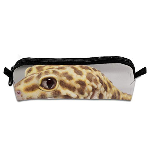 - Diemeouk Pencil Case Geckos Leopard Zippered Pen Bag Cosmetic Makeup Bags for Colored Watercolor Pencils