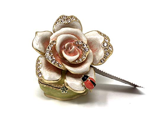 Jay Strongwater Diana Rose Box