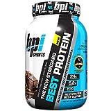 BPI Sports Best Protein Whey Formula, Chocolate Brownie, 2 Pound Review