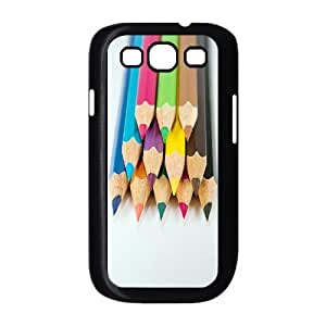 ALICASE Diy Back Case Colored Pencil For Samsung Galaxy S3 i9300 [Pattern-1]