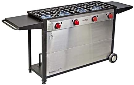 Amazon.com: Camp Chef Somerset Iv Four-Burner Stove, Black ...