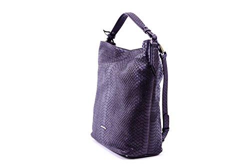 Coccinelle Brad Python Shoulder Bag leather Python/Calf leather Brown