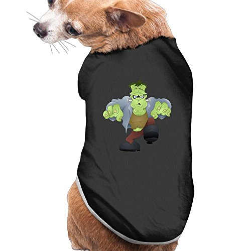 Frankenstein Cat Costume (NEW Pets Clothes HALLOWEEN Costumes Cute Frankenstein Pattern Vest Sweaters For Dogs&Cats)