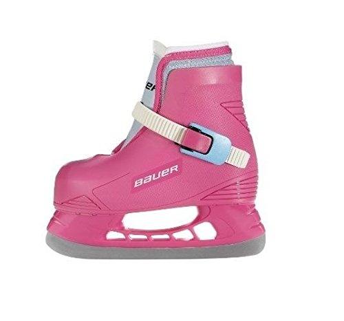 Bauer LIL Angel Champ Skates, Pink, 6-7 by Bauer
