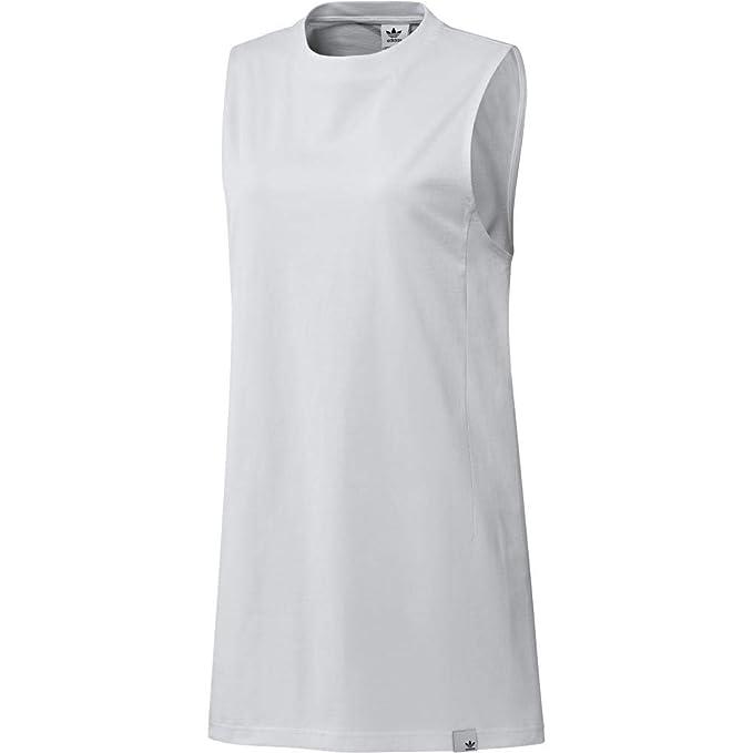 adidas Originals Women s Xbyo Elongated Tank Top 14 White at Amazon ... 8a41565177