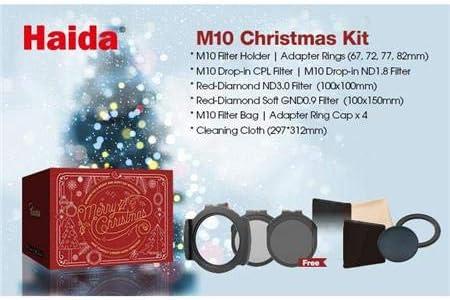 Haida M10 Christmas Kit M10 Filterhalter 67 72 77 82 Camera Photo