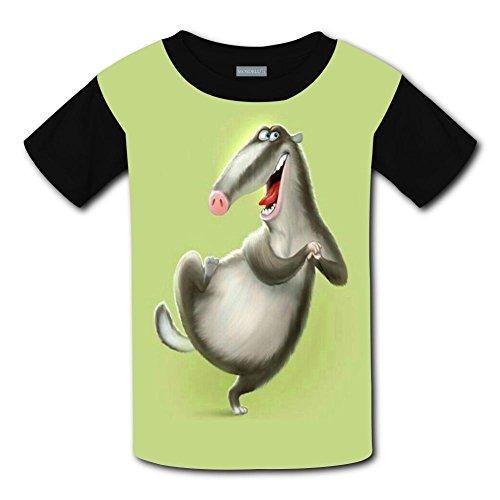 Yangjio T-Shirts Happy Wild Boar Costume M Short Sleeve For Children -