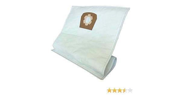 daniclean© dc31 Uni - Bolsas de tela para aspiradora (30 L, 10 ...