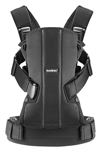 Babybjorn Baby Carrier We - Black, Cotton