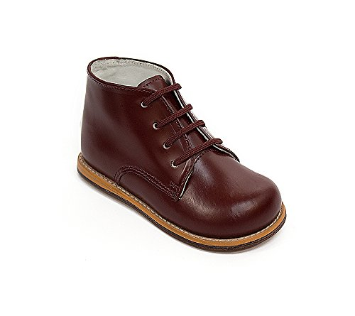 JOSMO Baby Unisex Walking First Walker Shoe, Burgundy, 7 ...