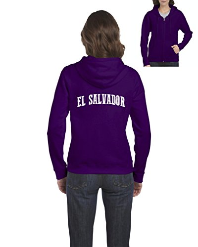 Mom's Favorite EL Salvador Hoodie Travelers Gift Ideas Places To Travel In San Salvador Novelty Gifts Womens Sweaters Zip Up (Best Places In El Salvador)