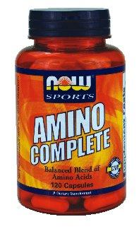 NOW Foods Amino CompleteTM - 120 Capsules