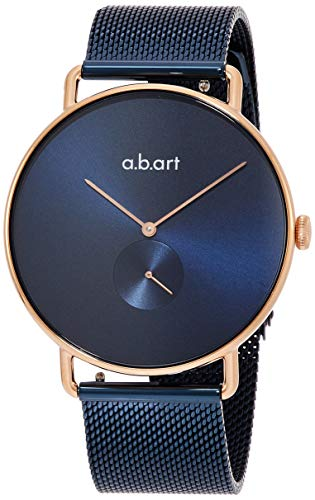 abart Ladies Watch (Model: FB36RoseGold / MeshBlueStrap) ()