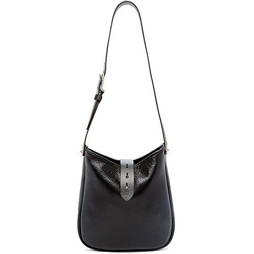 Top Belmont Hobo in Bag Leather Open Black Jack Georges RtwqxO511