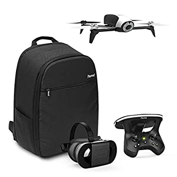 ca8991bb274231 Parrot - Pack Drone Quadricoptère Bebop 2 + Lunette FPV + Skycontroller 2 -  Blanc +