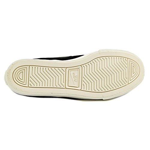 Nike Dames Primo Court Mid Suede Enkellange Mode Sneaker Zwart / Zwart-zeil