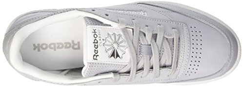 white Grey Metallic Skull Club 85 Femme Running silver Grey Chaussures Gris Reebok noir Fbt De cloud C TP1wxACAq
