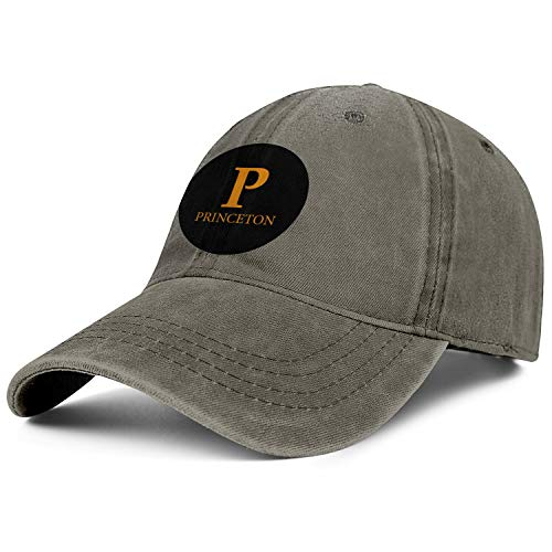 Unisex Princeton-University-Round-Labels- Baseball Cap Men Women - Classic Adjustable Cowboy Hat