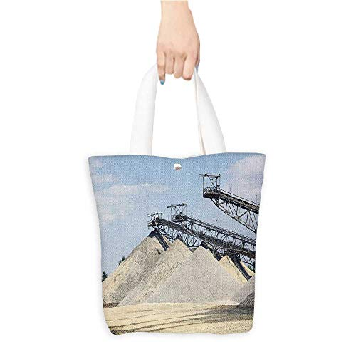 8039b40b088 Casual Shopping Tote Bagsort s towers Reusable 100% Eco Friendly W16.5 x H14
