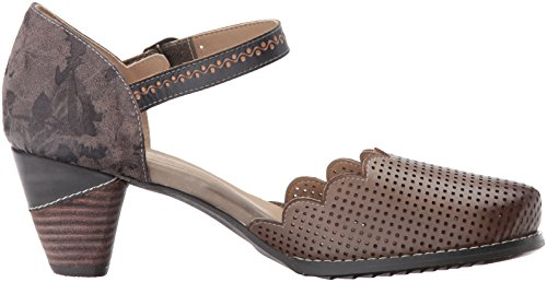 discount cost L'Artiste by Spring Step Women's Parchelle Mary Jane Flat Gray pick a best tH2ynngzAe