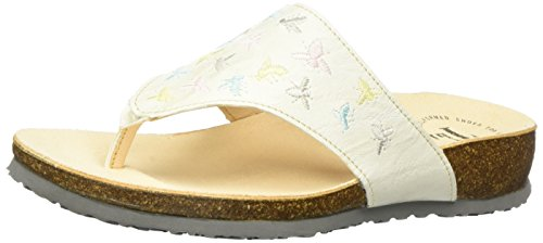 Think Julia, Chanclas para Mujer Blanco (shell/kombi 29)
