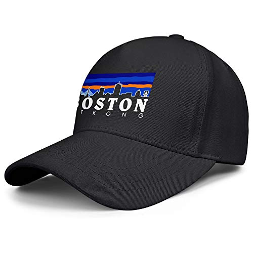 NCJDSH Boston City Strong Teenager Style Strapback Hat Winter Cap (Boston Strong Winter Hat)