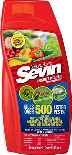 (Sevin 100530123 GardenTech Insect Killer Concentrate, 32oz)