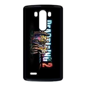Dead Rising 2 3 LG Caso G3 teléfono celular funda Negro caja del teléfono celular Funda Cubierta EEECBCAAB02956