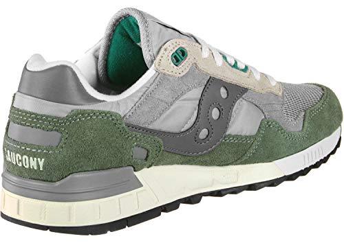 Saucony Green Verde Adulto Unisex Zapatillas 13 Shadow 5000 Vintage grey r8AxqwrTO