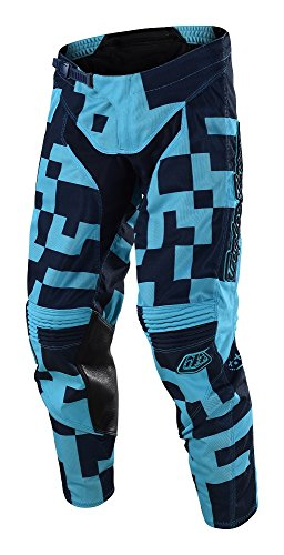2018 Troy Lee Designs GP Air Maze Pants-Turquoise/Navy-34 by Troy Lee Designs