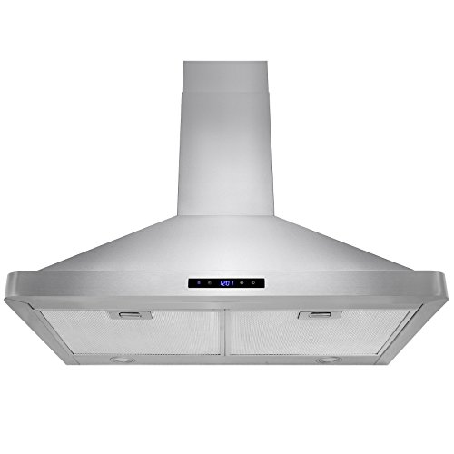 Price comparison product image AKDY 30-inch OSWRH63175S-30-AK Stainless Steel Wall-mount Range Hood